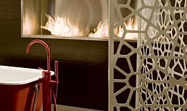 Fuori Salone 2010 Indoor Fireplaces Fireplace Insert Idea