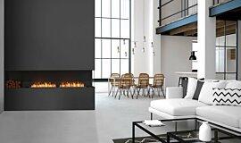 Living Area Indoor Fireplaces Flex Fireplace Idea