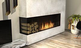 Living Room Residential Fireplaces Flex Fireplace Idea