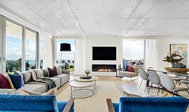 Espace Residence Commercial Fireplaces Flex Fireplace Idea