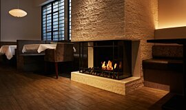 Casa Bianca Cafe Commercial Fireplaces Fireplace Insert Idea