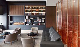 St Regis Hotel Bar Linear Fires Ethanol Burner Idea