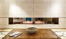 Fujiya Mansions Linear Fires Ethanol Burner Idea