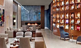 St Regis Hotel Lobby 2 Linear Fires Ethanol Burner Idea