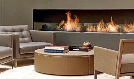 St Regis Hotel Lobby Linear Fires Ethanol Burner Idea