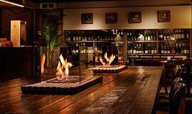 Restaurant La Cave Commercial Fireplaces Ethanol Burner Idea