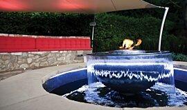 Fabric Ten Landscape Fireplaces Ethanol Burner Idea