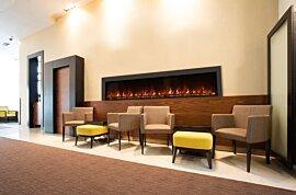 EL120 Indoor Fireplace - In-Situ Image by EcoSmart Fire