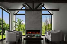 EL60 Built-In Fireplace - In-Situ Image by EcoSmart Fire