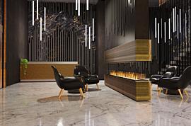 Flex 18IL Flex Fireplace - In-Situ Image by EcoSmart Fire