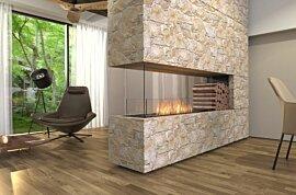 Flex 68PN.BXR Flex Fireplace - In-Situ Image by EcoSmart Fire