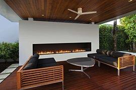 Flex 158SS Flex Fireplace - In-Situ Image by EcoSmart Fire