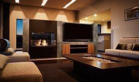 Firebox 800DB Fireplace Insert - In-Situ Image by EcoSmart Fire