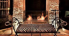 Igloo XL7 Designer Fireplace - In-Situ Image by EcoSmart Fire