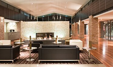 Crowne Plaza Hotel - Commercial Fireplace Ideas