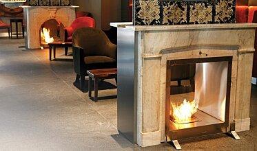 Equilibrium Bar - Hospitality Fireplace Ideas