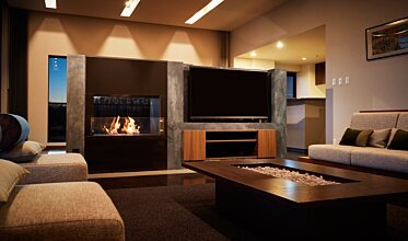 Nozomi Views - Built-In Fireplace Ideas