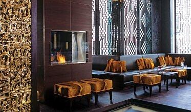 Shochu Bar - Hospitality Fireplace Ideas