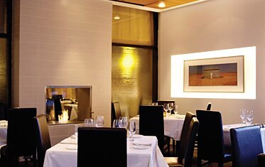 Equinox Restaurant - Hospitality Fireplace Ideas