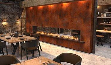 Restaurant Setting - Hospitality Fireplace Ideas