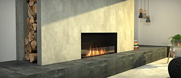 Living Area - Commercial Fireplace Ideas