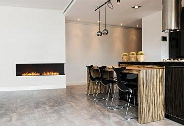 Kitchen Area - Kitchen Fireplace Ideas