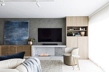 SJS Interior Design - Residential Fireplace Ideas