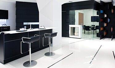 Snaidero Showroom - Kitchen Fireplace Ideas