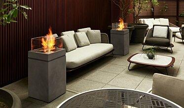 Merkmal Showroom - Residential Fireplace Ideas