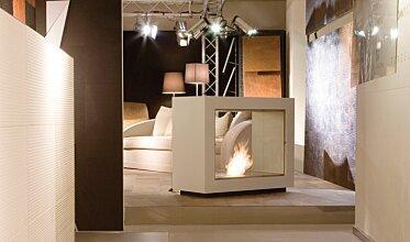 Milan Fair - Commercial Fireplace Ideas