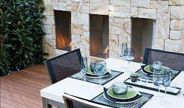 Melbourne International Flower and Garden Show - Commercial Fireplace Ideas