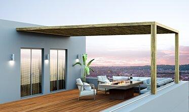 Balcony - Residential Fireplace Ideas