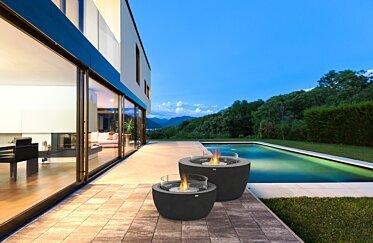 Outdoor Deck - Residential Fireplace Ideas