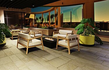 Commercial - Commercial Fireplace Ideas