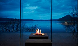 BK5 Ethanol Fireplace - In-Situ Image by EcoSmart Fire