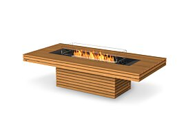 Gin 90 (Chat) Ethanol Fireplace - Studio Image by EcoSmart Fire