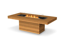 Gin 90 (Dining) Ethanol Fireplace - Studio Image by EcoSmart Fire
