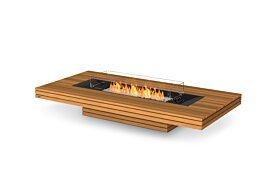 Gin 90 (Low) Ethanol Fireplace - Studio Image by EcoSmart Fire