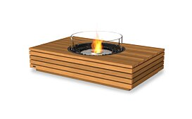 Martini 50 Ethanol Fireplace - Studio Image by EcoSmart Fire