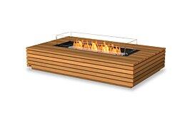 Wharf 65 Ethanol Fireplace - Studio Image by EcoSmart Fire