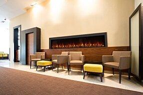 Lobby - EL120 Electric Fireplace by EcoSmart Fire