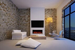 Private Residence - EL40 Electric Fireplace by EcoSmart Fire