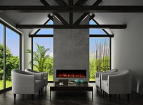 Private Residence - EL60 Electric Fireplace by EcoSmart Fire