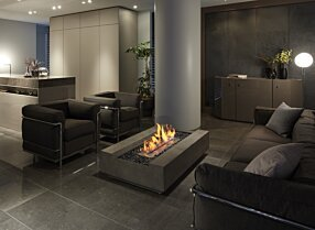 Private Residence - Cosmo 50 Fire Table by EcoSmart Fire