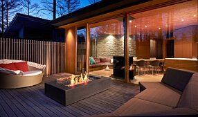 Private Residence - Wharf 65 Fire Table by EcoSmart Fire