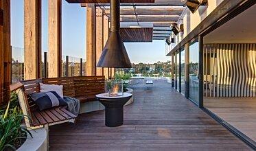Hamton's Haven Development - Outdoor Fireplace Ideas
