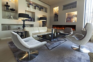 Lobby - Hospitality Fireplaces