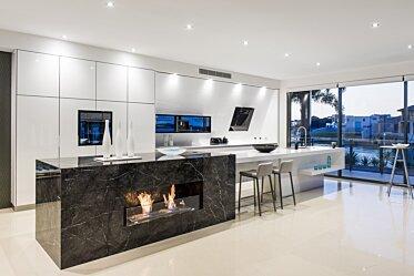 Enigma Interiors - Kitchen Fireplaces