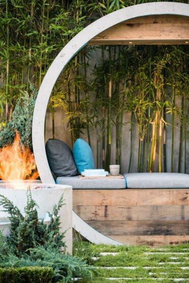 AD Design  - Outdoor Fireplace Ideas