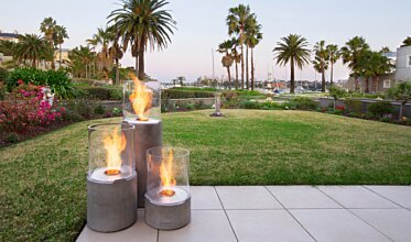 Hunters Hill - Outdoor Fireplace Ideas